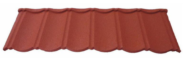 Traditional Chinese Discount Sun Stone Coated Metal Roof Tile