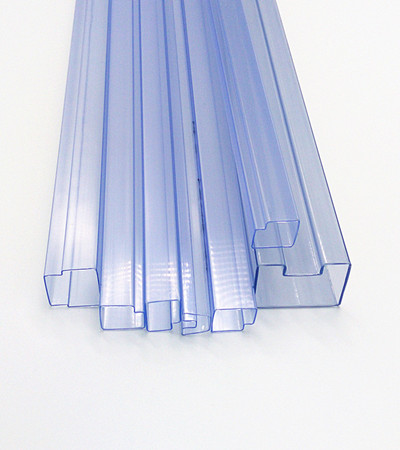Plastic Connector Tube For Parts Pvc Square Pipe