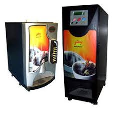 Hot And Cold Beverage Vending Machine