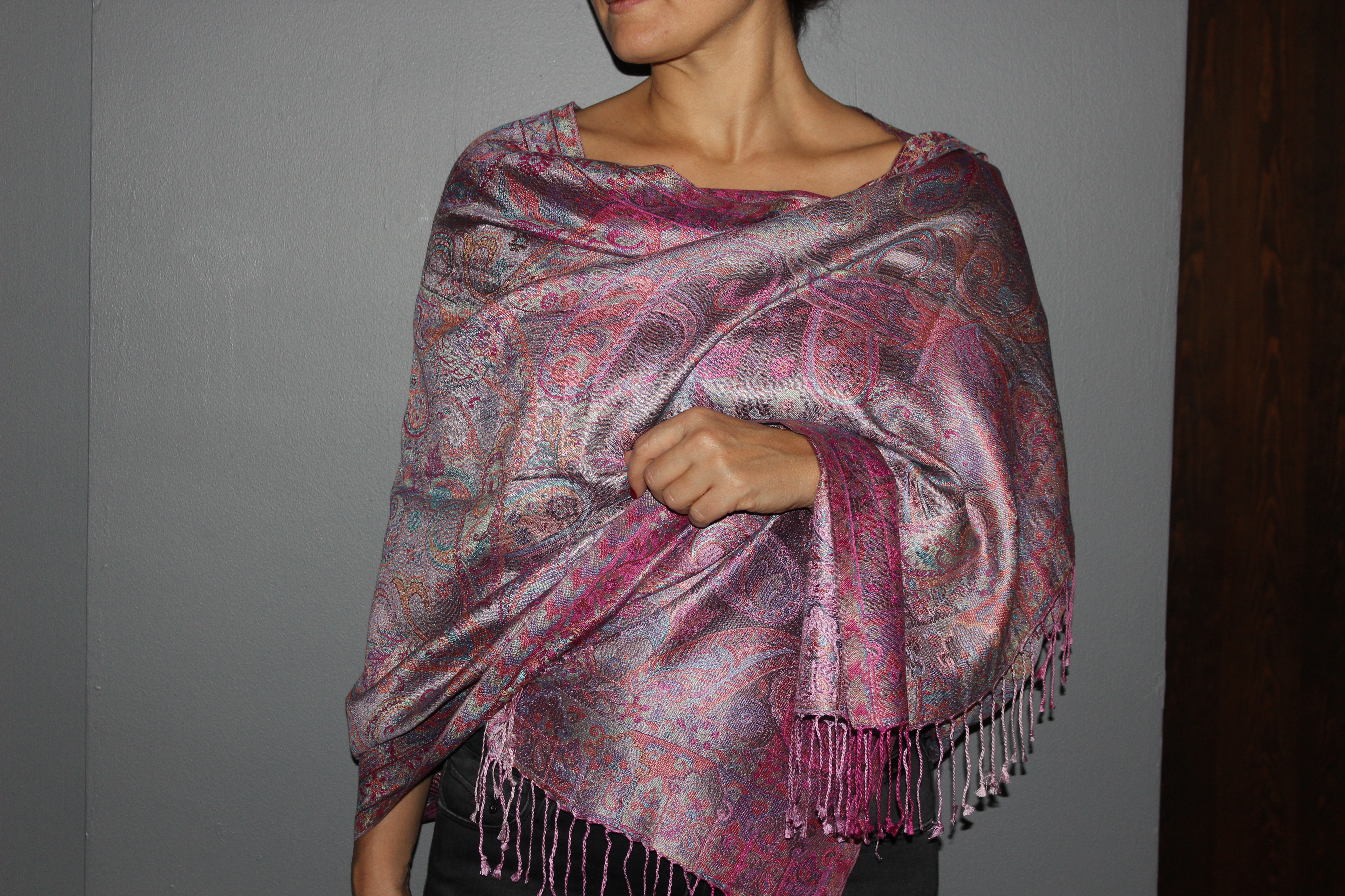 Silk Scarves And Shawls From Anatolia
