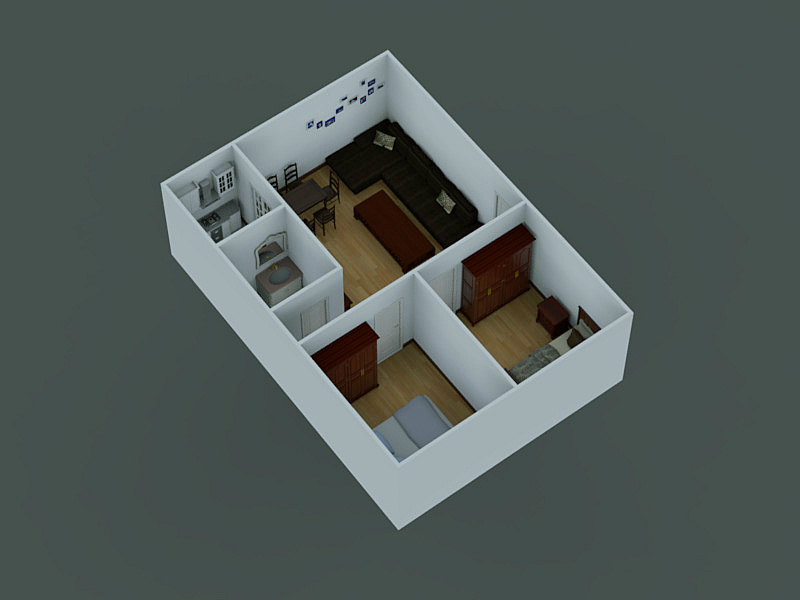 Low Cost Modular Prefab House, High Quality Mobile House