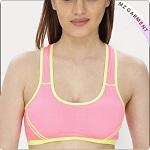 Girls Prism Pink Training Crop Top