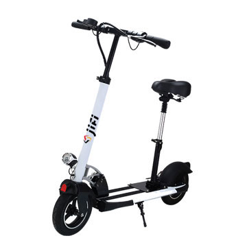 Foldable 2 Wheel Electric Kick Scooter With Seat