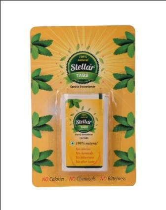 Stellar ClearTaste Stevia Tablets And Sachets