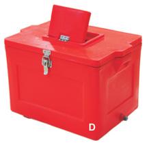 PLASTIC INSULATED ICE BOX