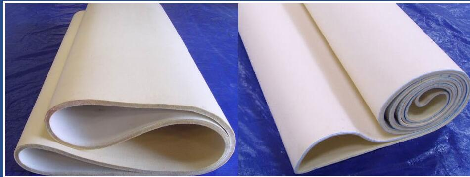 Heat Resistant Endless Compacting Machine Nomex Felt Belt