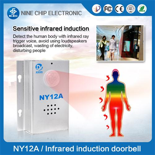 Pir Sensor Body Induction Voice Prompts