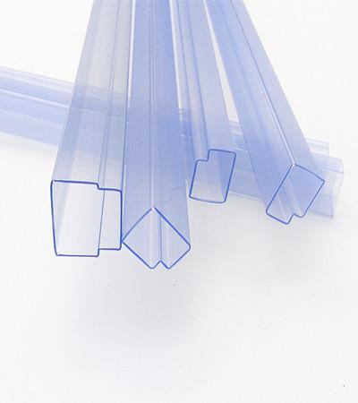 Triangular Plastic Pipes Pvc Tube Ic