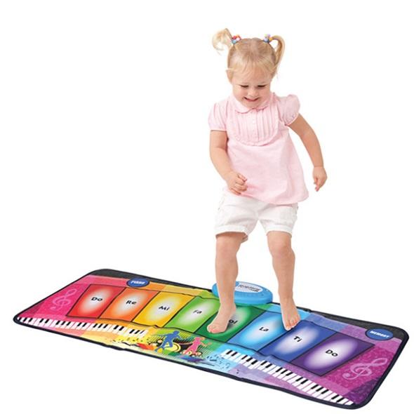 Rainbow Piano Mat