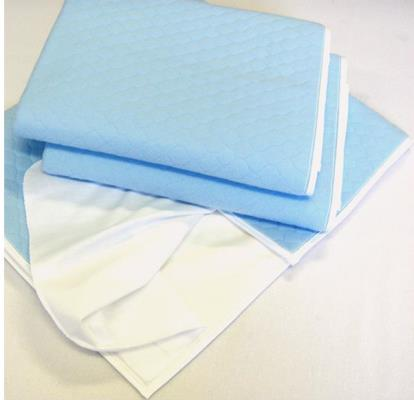 4 Layers Waterproof Reusable Incontinence Bed Pads (Washable Under Pad)