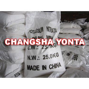 Potassium Nitrate – Industrial Grade (Changsha Yonta)