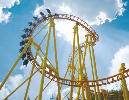 Funfair Rides For Sale Large Suspended Roller Coaster