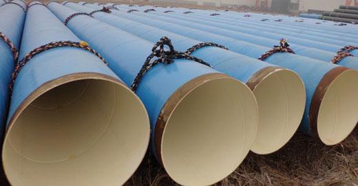 SSAW Steel Pipe EN 10217