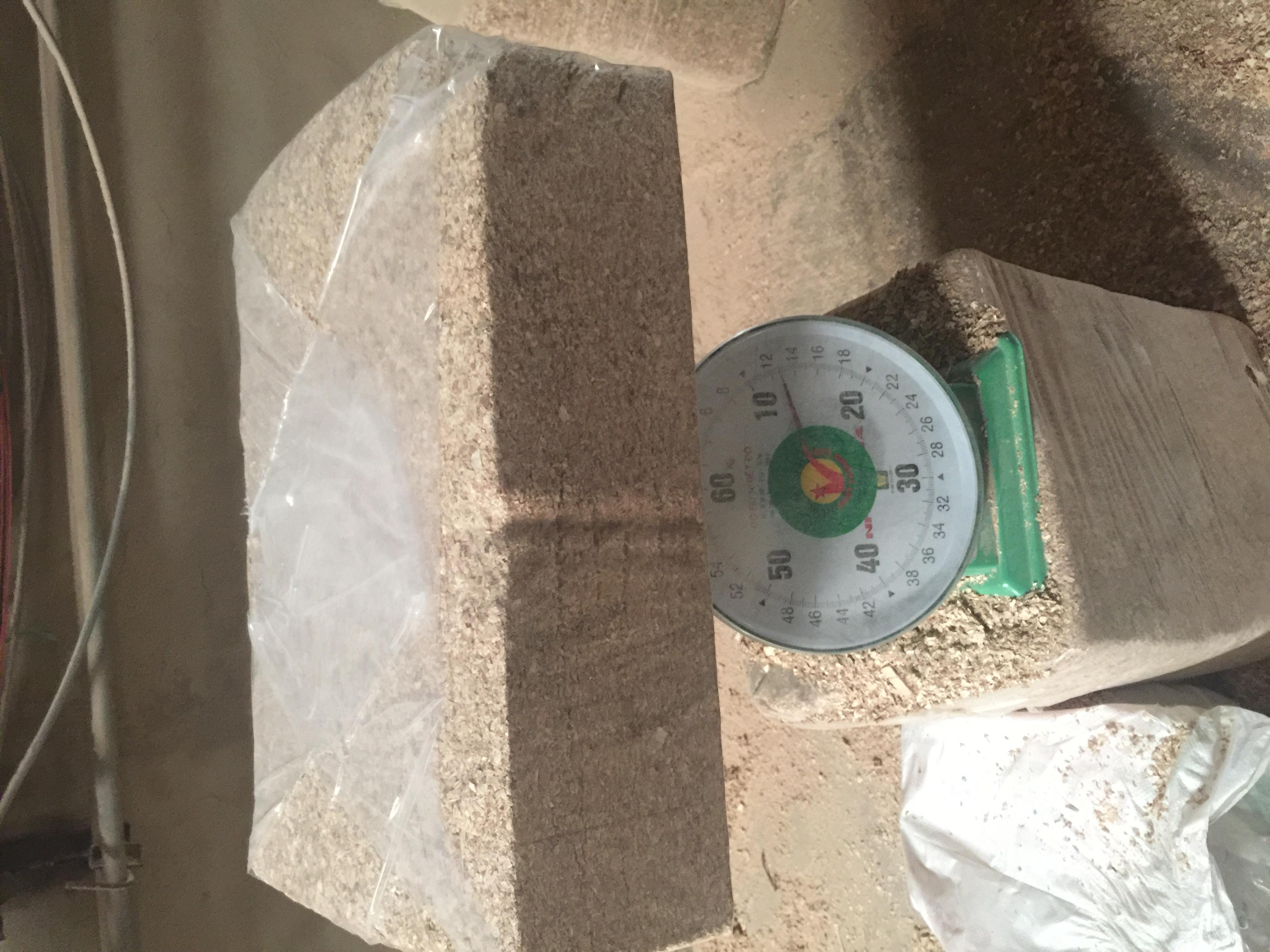Block Compressed Wood Shavings