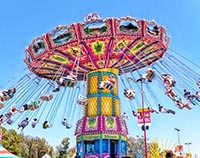 Wave Swinger Rides For Sale Shaking Head Flying Chair Rides For Sale