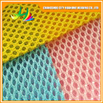 Polyester Spandex Printed Mesh Fabric For Women Clothing, 3D Air Mesh Fabric