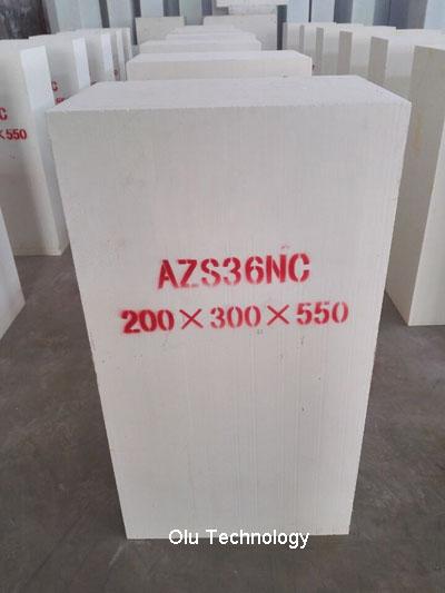 AZS36 Fused Cast Refractories