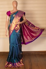 Pure Knachipuram Silk Sarees