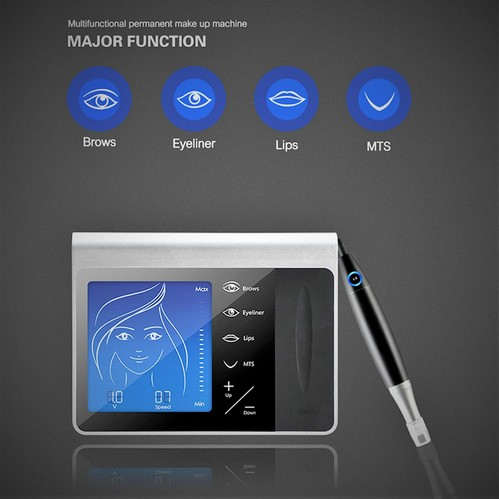 The Professional Full Touch Screen LED Pen Tattoo Machine