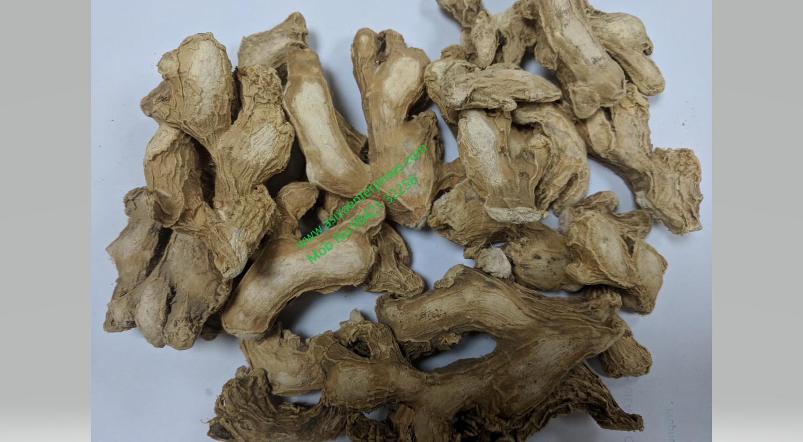 GINGER WITHOUT SO2 FOR SALE IN TUTICORIN