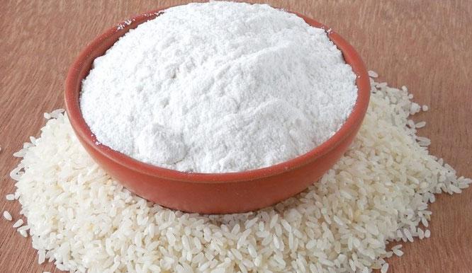 White Rice Starch/ White Flour