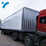 High Quality Luxury Aluminum Material Outdoor Van Cargo Semi Off Road Camping Travel Trailer
