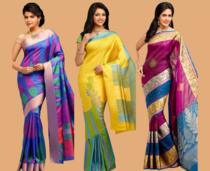 Kanchipuram Sarees, Pure Silk Sarees,paitani Silk,art Silk, Gas Masrai Silk. All Types Of Border & Cotton Sarees Etc