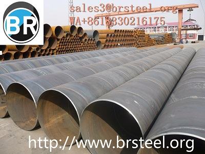 SSAW Steel Pipes Welded Pipes Anti-corrosion For Building Drilling Differents Styles