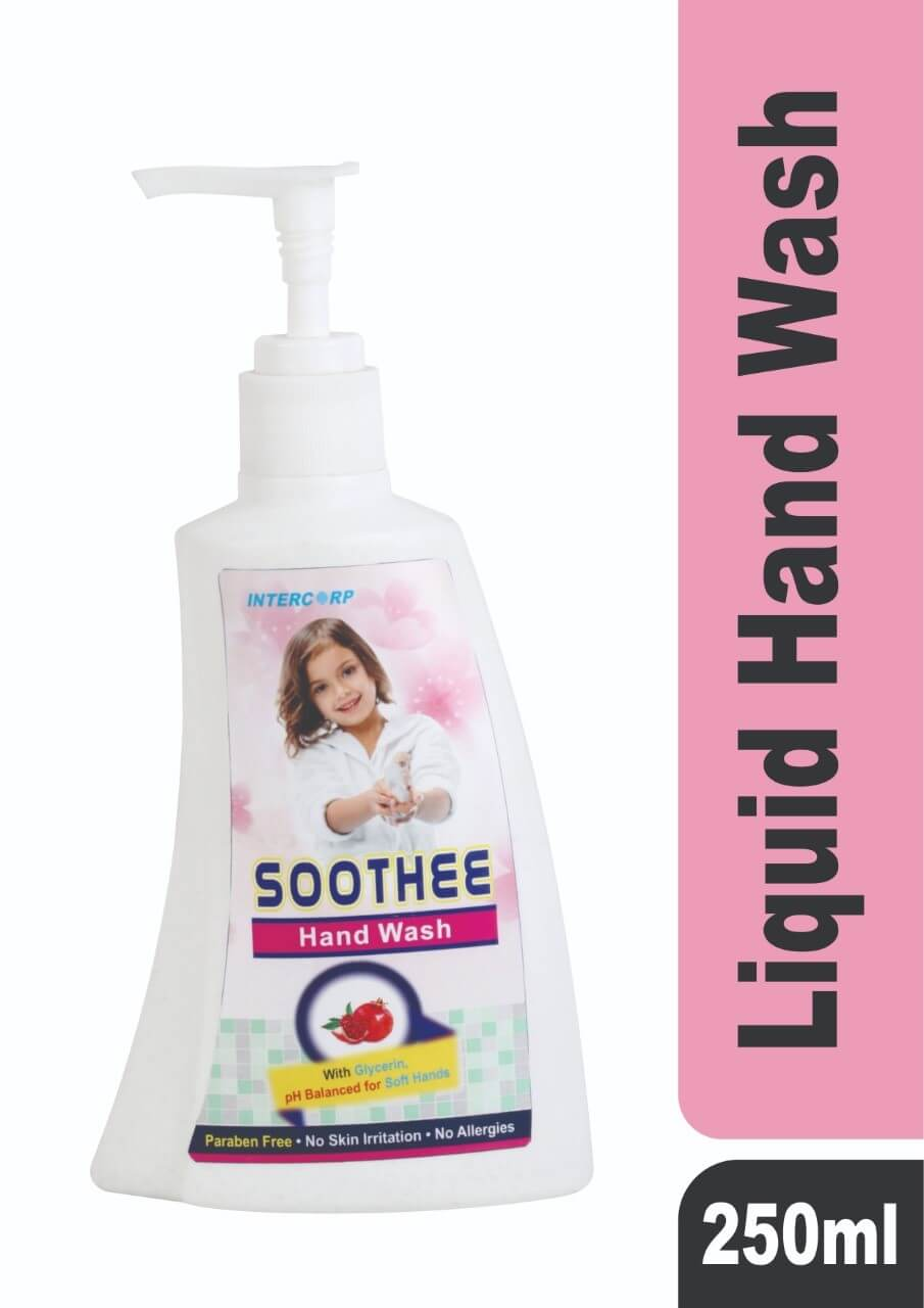 SOOTHEE - Liquid Hand Wash Soap - Lavender, Strawberry - 250 ML, 500 ML